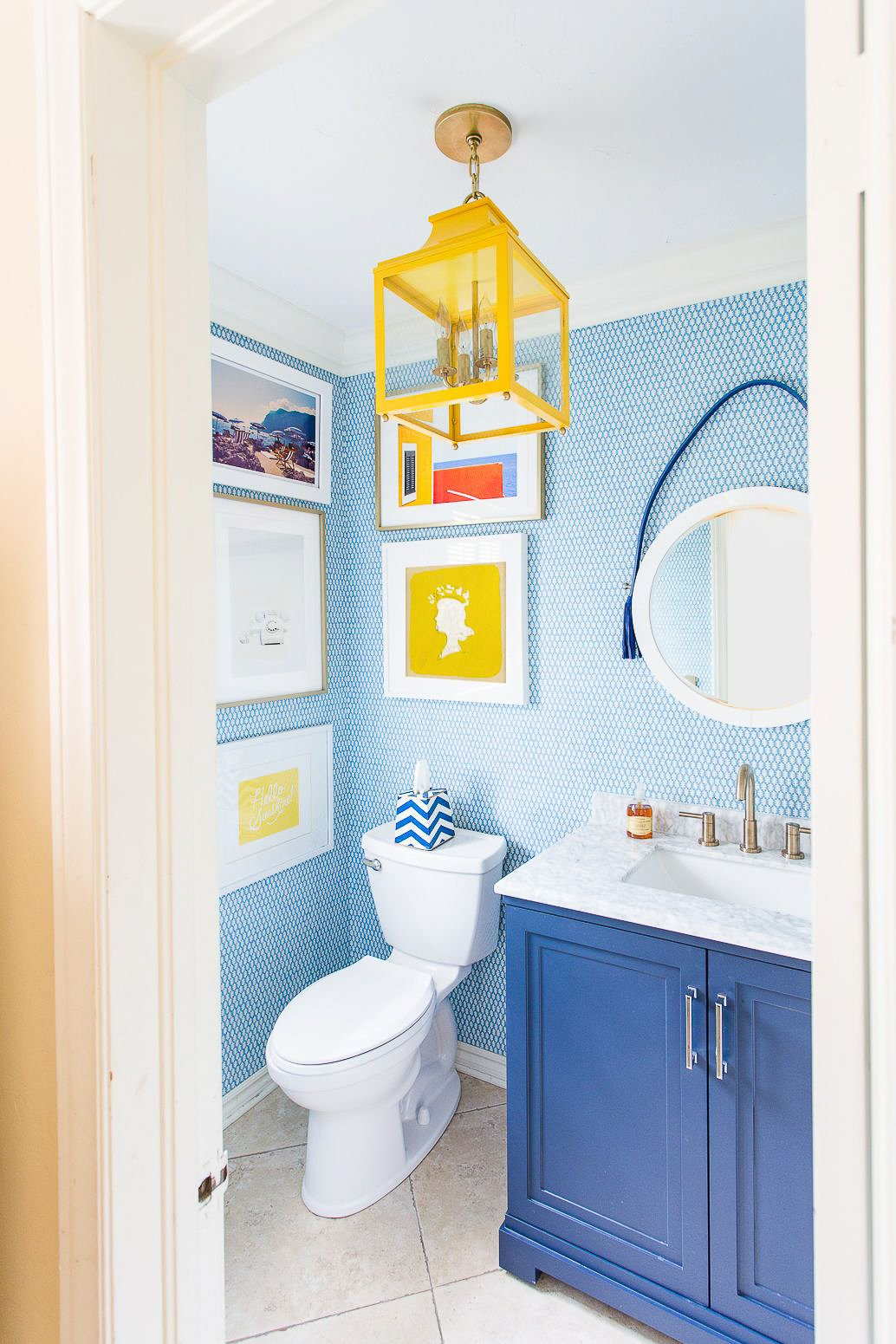Colorful Bathroom Designs To Inspire You Charleston Blonde