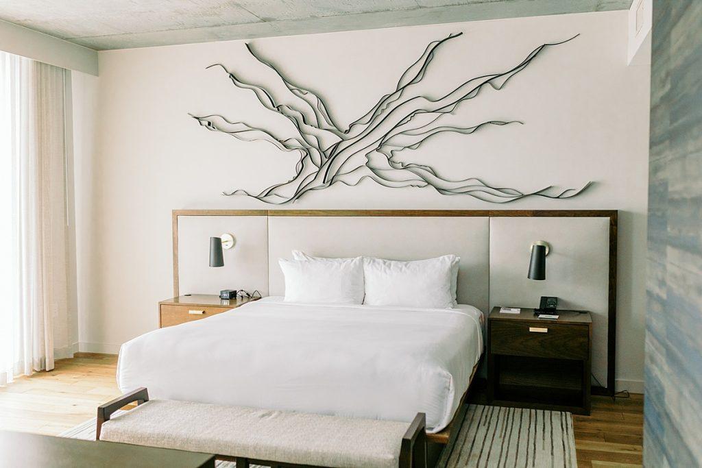 Luxury hotel room in Scottsdale, Arizona