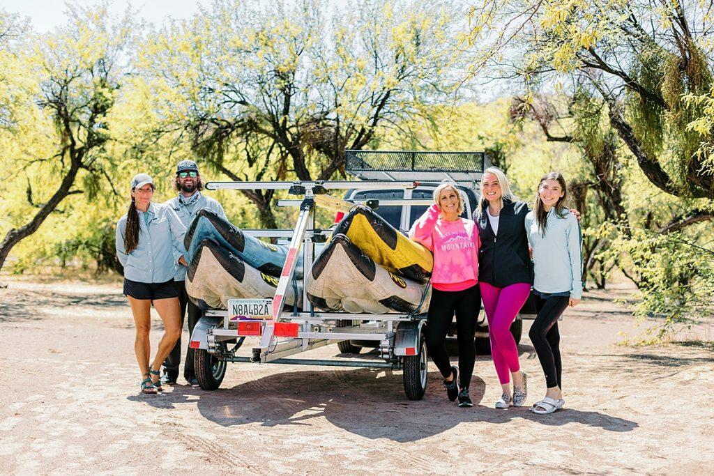 Salt River Kayak Tour Group
